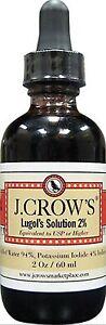 J.Crow's Lugol's Iodine Solution, 2 oz