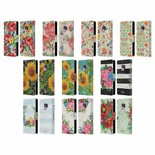 OFFICIAL PAUL BRENT FLORAL LEATHER BOOK WALLET CASE COVER FOR SAMSUNG PHONES 1