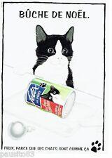 PUBLICITE ADVERTISING 116  1992   Felix aliment patée pour chat