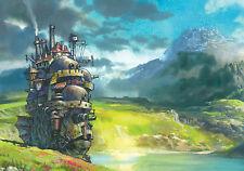Studio Ghibli-Howl 's Moving Castle paisaje poster print-Compre 2 lleve 1 Gratis