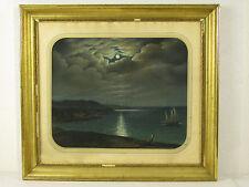 Hubert 1857 Nice Nizza Pastell Waschgoldrahmen