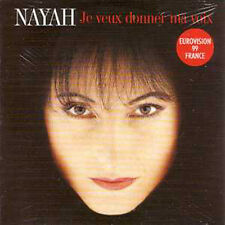 Eurovision 1999 France : Nayah CD single + RARE +