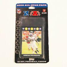 2008 Topps Football 12 Card All-Star Pack 2008 All-Star Team Set NFL