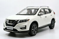 1/18 1:18 Scale Nissan Rogue X-trail 2019 White Diecast Model Car Toy Men's Gift