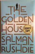 THE GOLDEN HOUSE BY SALMAN RUSHDIE 2017SIGNED FIRST EDITION FIRST PRINTING