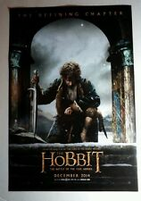THE HOBBIT BATTLE OF THE FIVE ARMIES LORD OF THE RINGS  11.5x17 MOVIE POSTER