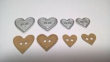 Heart Button Cutting Die Card Making Scrapbooking Diary Journal Home Decor Craft