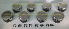 Speed Pro/TRW Chevy 454 Forged -8cc Dish Coated Skirt Pistons (8) +30