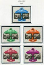 TONGA  238 - 242  Beautiful  Mint  NEVER  Hinged  Set  AG