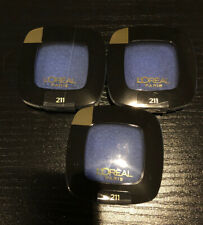 Lot 3 L'Oréal Colour Riche Eyeshadow- 211 Grand Bleu New Sealed