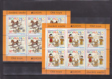ROMANIA 2015,Old Toys,CEPT,Europe,klbg,MNH,horse,bycycle,dolls