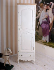 Nostalgic Linen Closet in Country House Style White Cottage Antique
