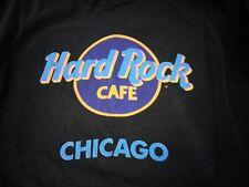 Vintage Hard Rock Cafe Chicago Vacation Tourist T Shirt XL Black