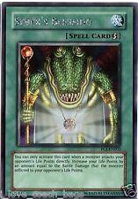 SEBEK'S BLESSING Promo Holo Foil Card pcj SECRET YUGIOH X 3 CARDS