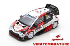 NEWS TOYOTA YARIS WRC 2°RALLYE MONTE CARLO 2020 SEBASTIEN OGIER SPARK S6551 1/43