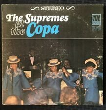 The Supremes At The Copa 1965 Live Album Motown S636 1st Press - EX+/NM- Vinyl