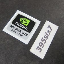 NVIDIA GEFORCE GTX 660M 2GB Sticker - 18mm x 18mm