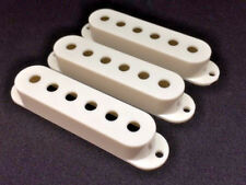 Blanc vintage Pick up Couvre 52 mm espacement pour s'adapter Stratocaster Strat Guitares