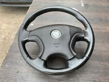 jaguar x-type 02 leather steering wheel 2001-2008