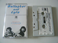 GALLAGHER AND LYLE BREAKAWAY CASSETTE TAPE ORIG 1976 PAPER LABEL & A&M