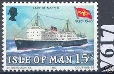 GB Insel Man 1980: Passagierschiff Nr. 171, postfrisch!