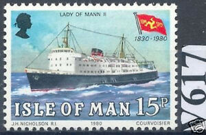 GB Island Man 1980: Passenger Ship No. 171, Mint