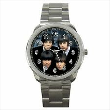 NEW* HOT THE BEATLES Quality Sport Metal Wrist Watch Gift