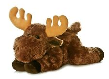 "Aurora Flopsie Moose 12"" Stuffed Animal Plush NWT 31421"