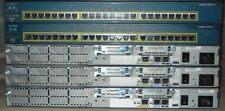 CISCO CCNA LAB 3x 2650 32/128 Routers 2x 2950 SWITCHES