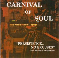 CARNIVAL OF SOULS - Persistence... No Excuses (CD 1998)