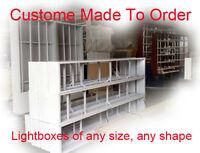Custom size light box, Under Awning lightbox, small or large