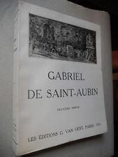 Gabriel de Saint-Aubin 1931 catalogue raisonné 1/25ex