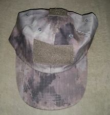 *** BALL CAP A-TACS - ADULTS SIZES *** PATCH FRONT ARMY CAMOUFLAGE CAP
