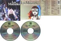 Les Misérables - The Original London Cast Recording 1985 2 x CD Musical