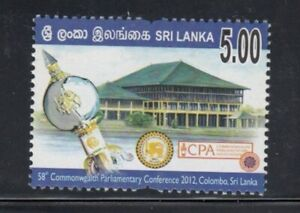 SRI LANKA 58th Commonwealth Parliamentary Conference MNH stamp