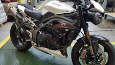 TRIUMPH SPEED TRIPLE 1050rs + S 2018 MGS COMPLETO Protettore URTI KIT FORCELLE