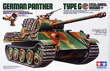 Tamiya 35174 German Panther Type G Steel Wheel Version 1/35 Scale kit