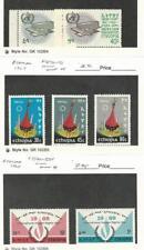 Ethiopia, Postage Stamp, #468-9 Mint NH, 470-2 Hinged, 500-1 LH, 1966-68