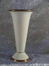 Royal KM Kerafina Elfenbein Porzellan Vase Trichtervase 21 cm Nr 81/3 Handarbeit