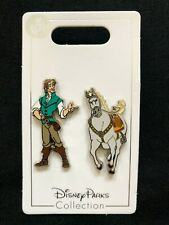 Disney Parks Pin Trading Tangled Flynn  Rider & Maximus the Horse