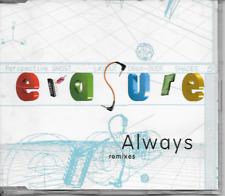 ERASURE - Always (REMIXES) CDM 4TR Euro House Synth-Pop 1994 Germany