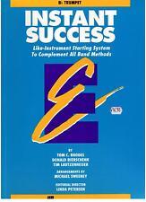 Instant Success, Bb Trumpet, Essential Elements, New Trumpet Music Book