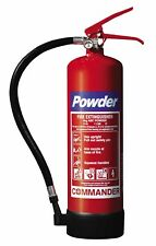 4kg ABC Dry Powder Fire Extinguisher - Fast UK Stock