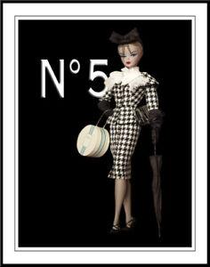 Chanel Barbie #1 Art Canvas Print 16 x 20    #3497