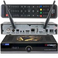 ➨ OCTAGON SF8008 4K UHD E2 DVB-S2X & DVB-C/T2 Linux Combo Receiver USB WLAN NEU✅