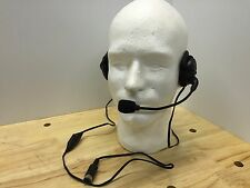 A+ Behind Neck Headset for Harley Davidson Works with Vox, CB and Inter