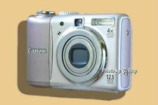 CANON A1100 IS PINK-MECHANICALLY RECONDITIONED-VIEWFINDER-EASY TO HOLD-LT WEIGHT