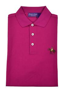 Ralph Lauren Purple Label Equestrian Horse Polo Shirt New $350