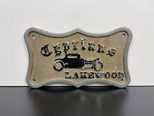 "Vintage Original ""CYPRIANS"" Lakewood, Ca HOT ROD Koehler Custom CAR CLUB PLAQUE"