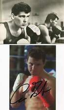 Henry Maske & 3 GERMAN BOXERS autographs, four signed photos